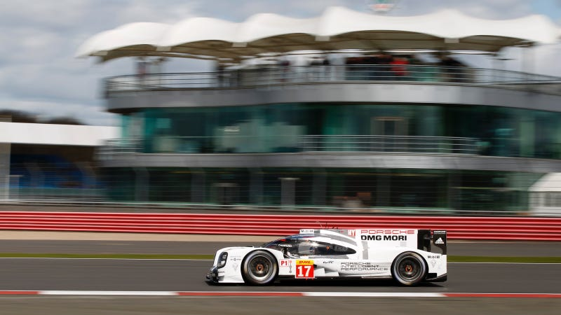 Illustration for article titled Porsche Gets First World Endurance Championship Pole of 2015