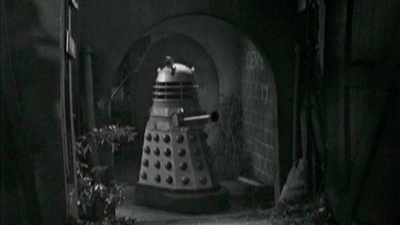 """Illustration for article titled Doctor Who (Classic): """"The Dalek Invasion Of Earth"""""""