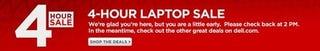Illustration for article titled Dell is Having a 4-Hour Laptop Sale Starting...NOW