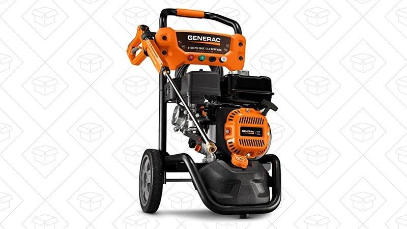 Generac 3100 PSI Gas-Powered Pressure Washer   $295   Amazon