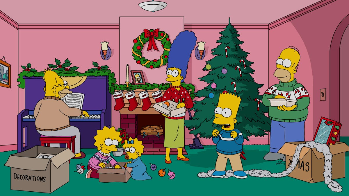 590112694853 A fitfully funny Simpsons Christmas forgets the Simpsons