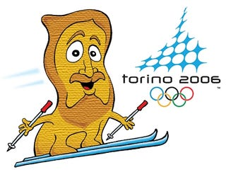 Illustration for article titled Turin Olympics Officials Unveil 'Shroudy' Mascot
