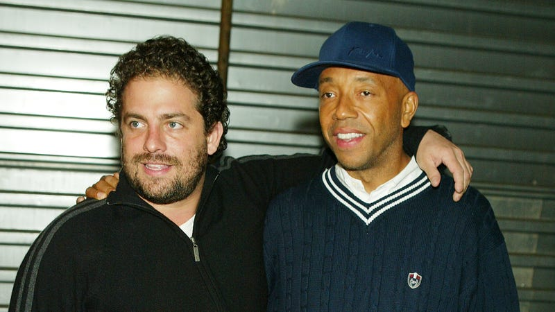 2004 photo of Ratner and Simmons at The Hot Young Hollywood Party at the Spider Club. Image via Getty.