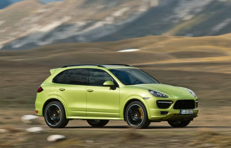 Illustration for article titled Porsche sales continue to rise and the Cayenne still outsells all other models