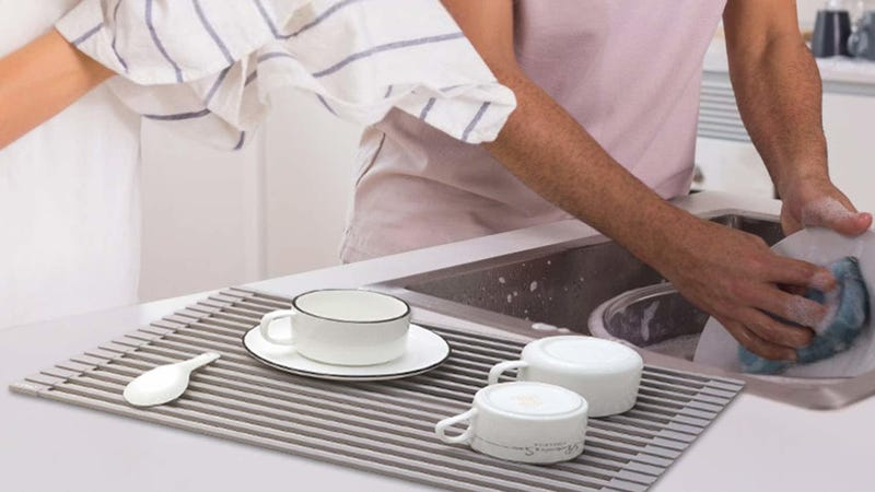 X-Chef Rolled Up DIsh Drying Rack | $17 | Amazon | Clip 10% coupon and use promo code U92RPA36