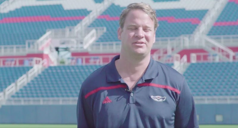 Illustration for article titled Lane Kiffin Fires Up FAU Fans By Squinting And Mumbling