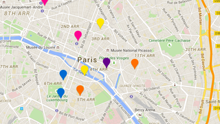 Illustration for article titled Find English-Speaking Hotels and Restaurants in Paris With This App