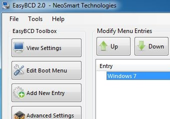 Illustration for article titled EasyBCD 2.0 Makes Dual-Booting Easier, Now Supports Windows 7