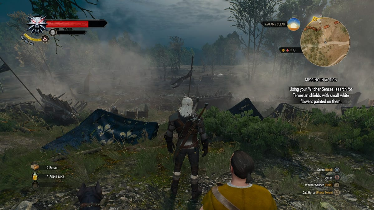 Give Flowers Witcher 3 - Flowers Healthy
