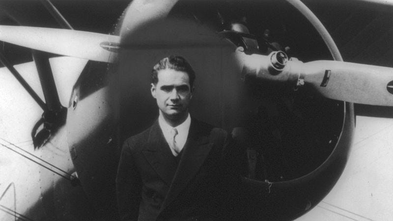 Illustration for article titled Follow the outsized successes and failures of mogul Howard Hughes