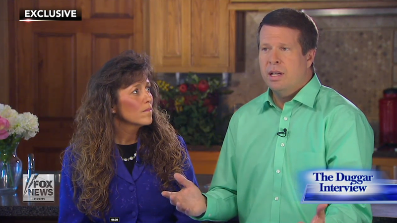 Illustration for article titled So the Duggars Lied a Lot During Last Night's Fox News Interview