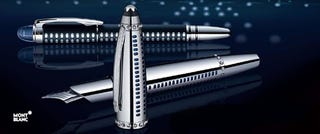 Illustration for article titled This A380 Montblanc Pen is Only For the Wealthiest of High-Flyers