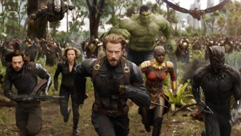 Illustration for article titled En Avengers: Infinity War estarán nada menos que 76 personajes de Marvel (estos son los confirmados hasta ahora)