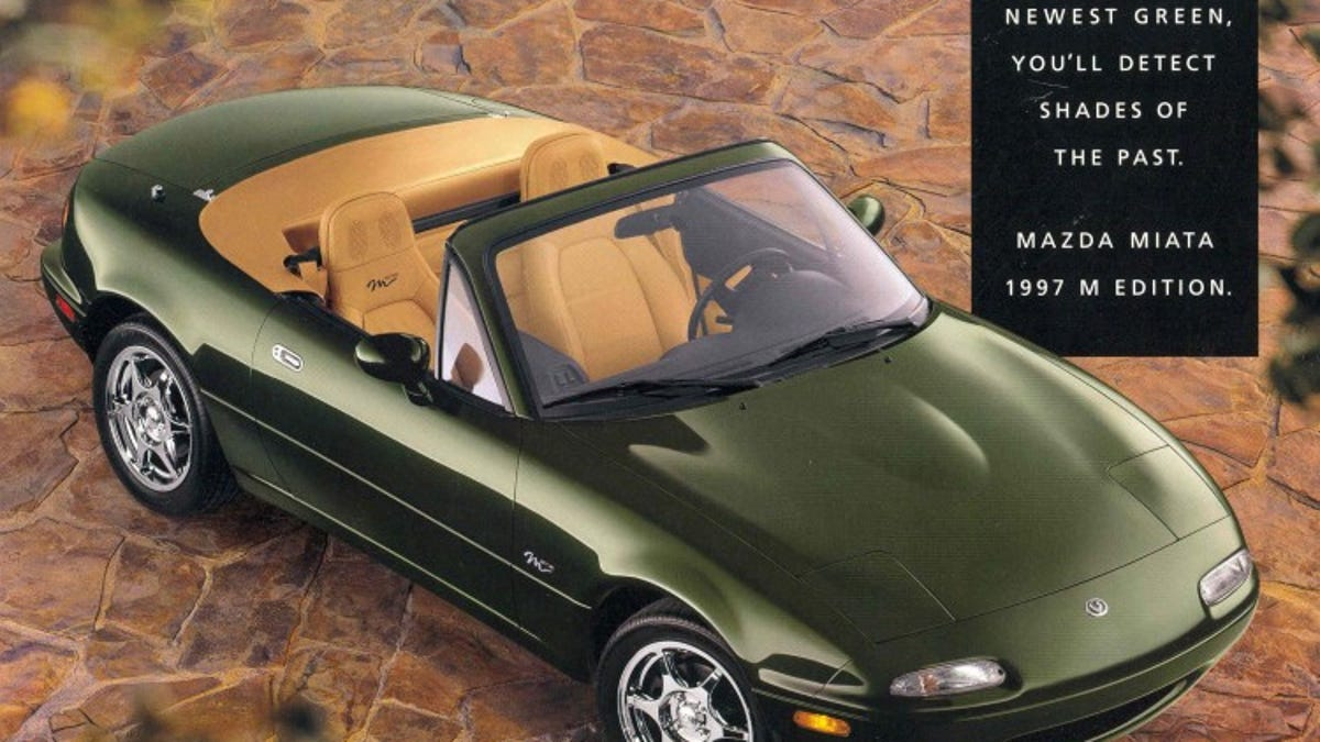 Your Guide To Every Special Edition Mazda Miata Ever Sold In America Schematic For 1994 Engine