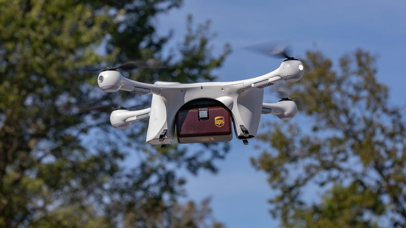 Illustration for article titled UPS Gets FAA Approval to Run America's First Drone Delivery Airline