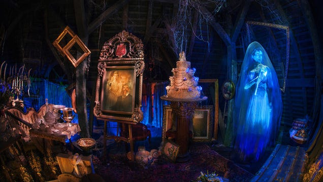How Disney Upgrades The Haunted Mansion To Scare New