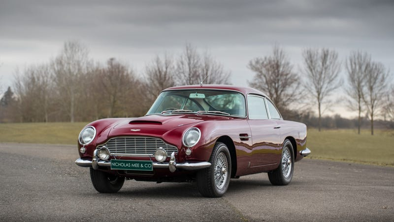 Robert Plant S 1965 Aston Martin Db5 Is For Sale And It S A Beauty