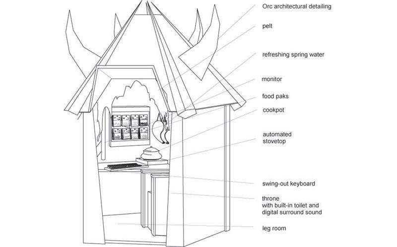 Illustration for article titled The WoW Pod Is A Suicide Booth For Warcraft Fans