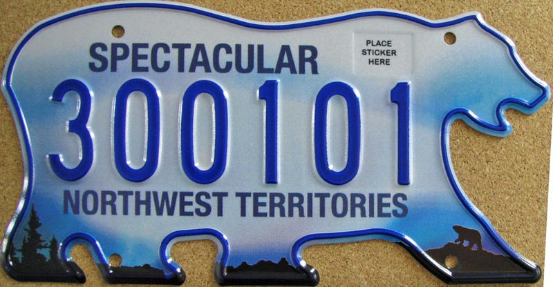 Illustration for article titled I saw not one, but TWO (!) cars with NWT plates today.