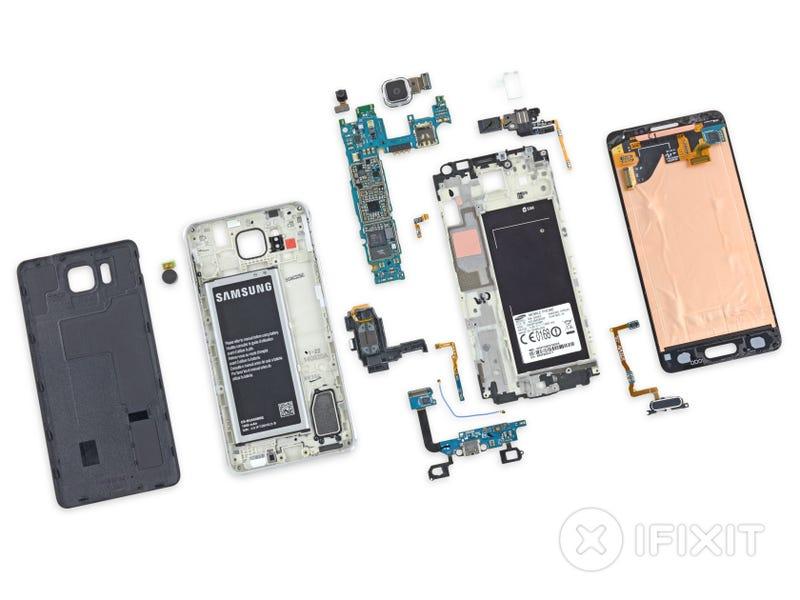 Illustration for article titled Así es por dentro el nuevo Samsung Galaxy Alpha de aluminio