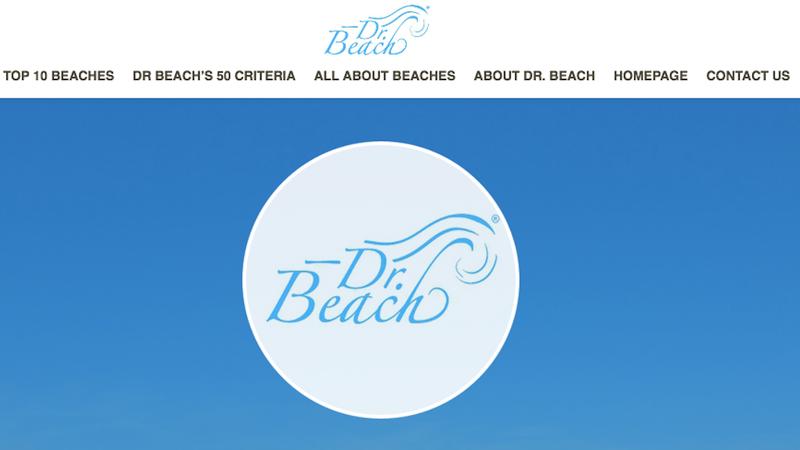 Screencap via the website of Dr. Beach.