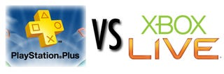 Illustration for article titled Xbox Live Vs. PlayStation Plus!