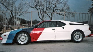 Illustration for article titled BMW M1 AHG races again to the auction block