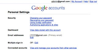 Illustration for article titled Google Account Security Best Practices
