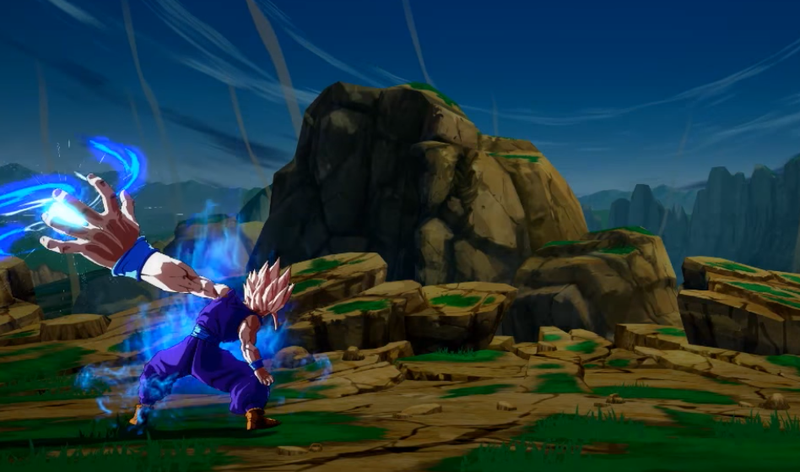 Illustration for article titled Dragon Ball FighterZ Does Some Weird Stuff Behind The Camera