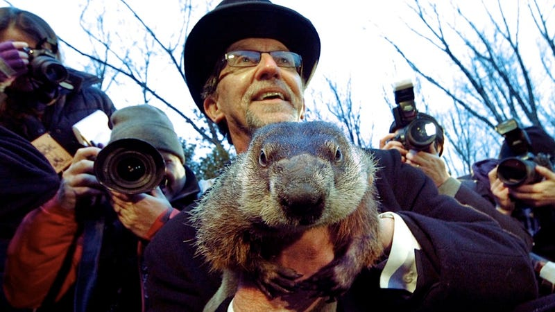 Illustration for article titled Punxsutawney Phil Determines That Pagan Animal Worship Is Alive and Well