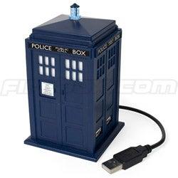 Illustration for article titled Doctor Who Tardis USB Hub
