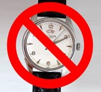 Illustration for article titled Wristwatches Banned in College-Entry Exams Thanks to One Lousy Cheater