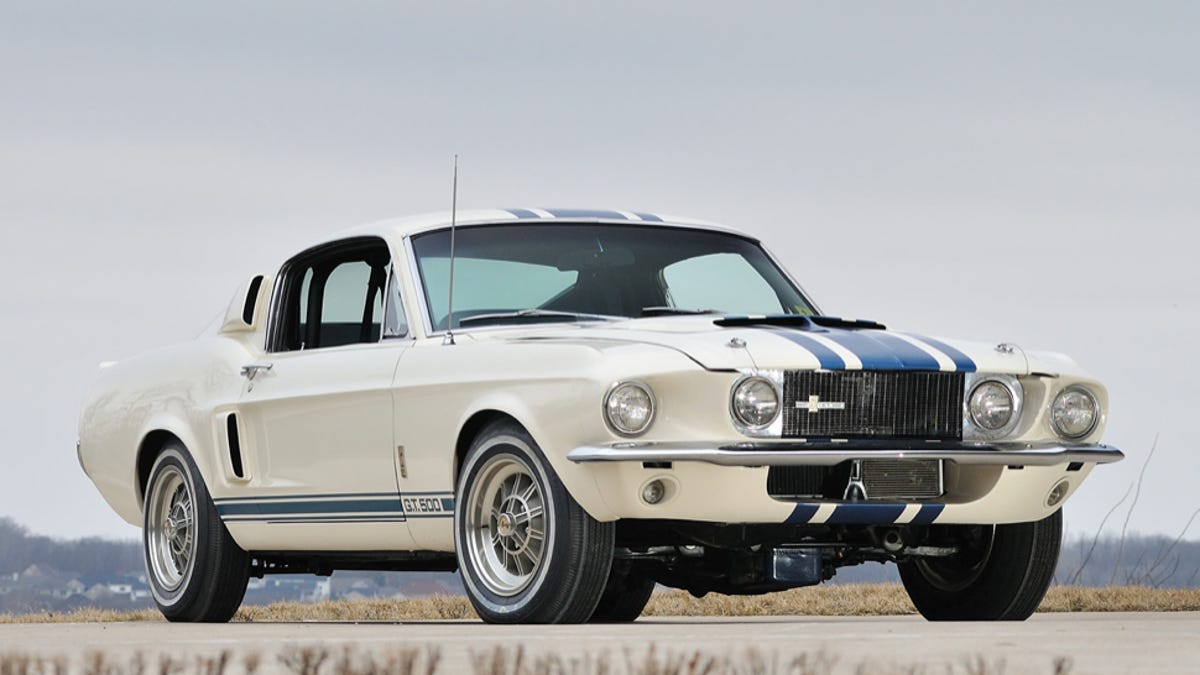 This $1.3 Million 1967 Shelby Is The Most Expensive Mustang Ever Sold
