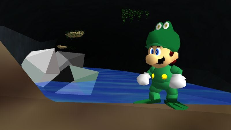 This ambitious new mod is a bigger, harder, froggier Super Mario 64