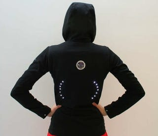 Illustration for article titled Signal Jacket for Cyclists Gets Instructable: Your Arms Will be Happy