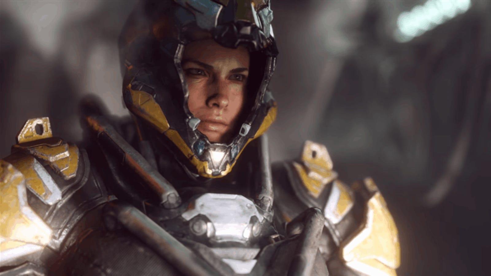 Así es Anthem, el nuevo juego épico de ciencia-ficción en el que debes salvar al mundo junto a tus amigos