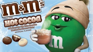 Illustration for article titled Please Insert These Hot Cocoa-Flavored M&Ms Directly Into My Mouth