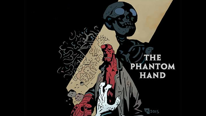Illustration for article titled Hellboy Investigates a Phantom Limb In This Creepy Comic Preview
