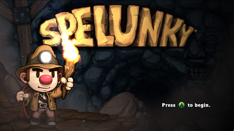Illustration for article titled Bananasaurus_Rex Keeps Breaking Spelunky