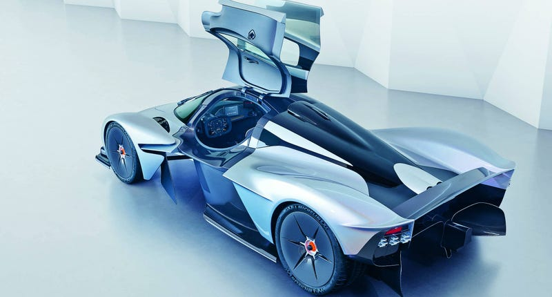 Illustration for article titled We Finally Know What the Aston Martin Valkyrie Sounds Like (Really Good)