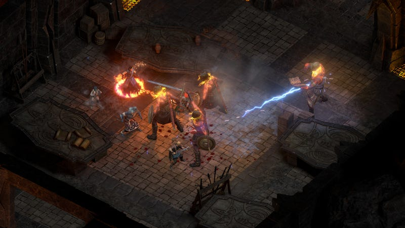Illustration for article titled Pillars Of Eternity II Is Getting A Turn-Based Mode