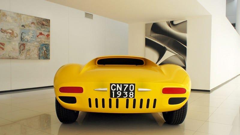 Illustration for article titled Giugiaro Lamborghini