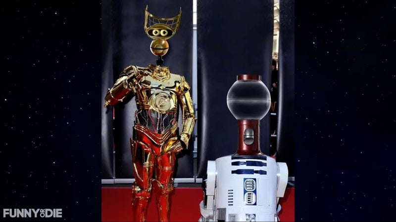 Illustration for article titled New MST3K bots audition for new Star Wars movie, usher in reboot singularity