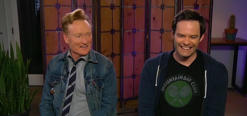 Conan O'Brien, Bill Hader