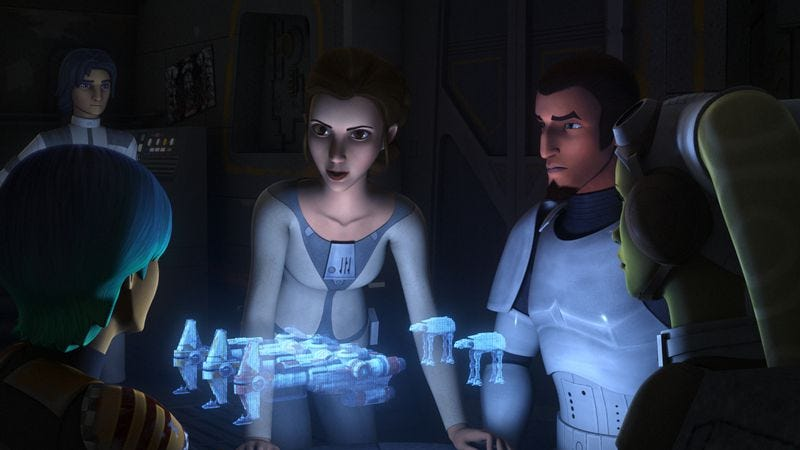 Illustration for article titled Star Wars Rebels returns with a big-time cameo but struggles to make it mean anything