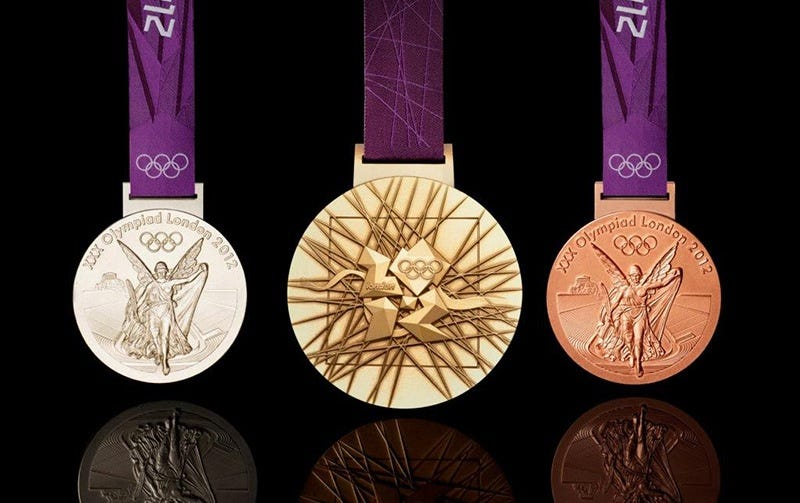 Illustration for article titled How Much Are Olympic Medals Actually Worth?