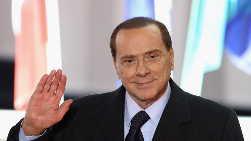 Illustration for article titled Sorry, Ladies: Silvio Berlusconi Is Engaged to His 27-Year-Old Girlfriend