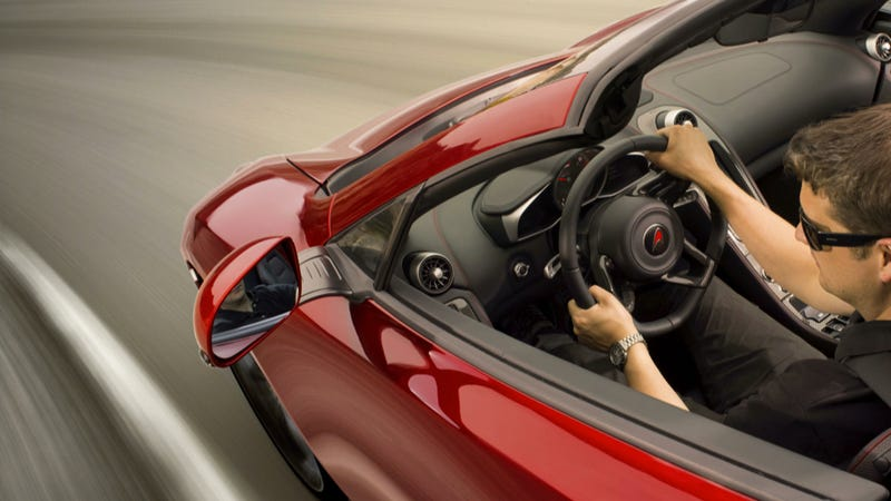 Illustration for article titled The McLaren 12C Spider Will Go 186 MPH With No Roof