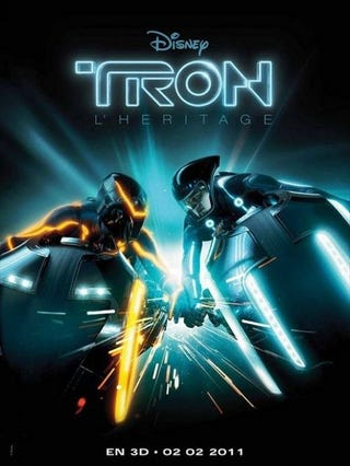 Illustration for article titled Tron Legacy Poster