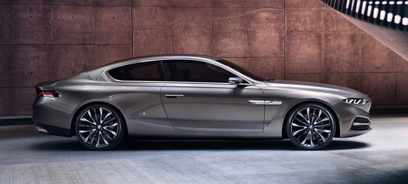 The 2017 Bmw Gran Lusso Coupe Concept Photo Credit